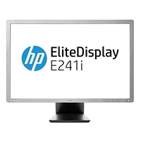 "Hp E241i 24"" Lcd Widescreen Vga/dvi-d/displayport Height Adjust Refurbished Monitor E241i - Tgt01"
