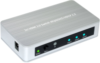 MicroConnect HDMI 2.0 Switch 3 to 1 way Supporting 4K 60Hz / HDCP2.2.  W125660961 - eet01