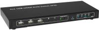 MicroConnect HDMI & USB 4 Ports KVM SWITCH With HOTKEY W125660969 - eet01