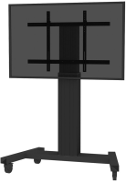 NewStar Motorised Mobile Floor Stand Flat screen floor stand, 130 PLASMA-M2250BLACK - eet01