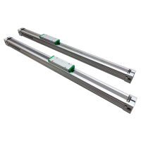 PLF Series Low Profile Unguided Rodless Cylinder