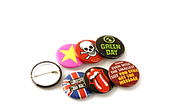 25mm Personalised Button Badges