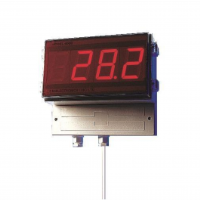 """2"""" LED Wall Mount Thermocouple Thermometer"""