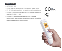 Suppliers Of Precise non-contact Infrared Forehead Thermometers