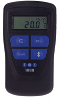 Waterproof ThermoBarScan - 1D/2D Barcode Scanner & Bluetooth