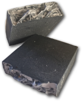 Activated Charcoal And Tea Tree Goat Milk Soap