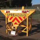 1 metre Cubic Capacity towed Gritter