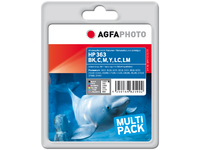 APHP363SETD AgfaPhoto Ink bk/c/m/y/lc/lm Pages 500 - eet01