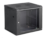 """MicroConnect 19"""" Wall mounting cabinet 6U W. 600mm x D. 450mm x H. 370mm CABINET7 - eet01"""