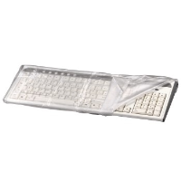 hama Keyboard Dust Cover transparent  00042200 - MW01