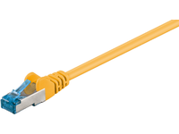MicroConnect S/FTP CAT6A 10M Yellow LSZH PIMF( Pairs in metal foil) SFTP6A10Y - eet01