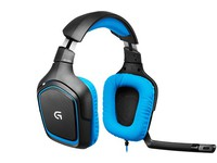 Logitech G430 Gaming Headset W/Surround sound 981-000537 - eet01