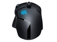 Logitech G402 Optical Gaming Mouse Corded, Hyperion Fury 910-004067 - eet01