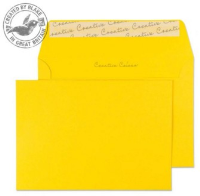 15104 Blake Creative Colour Egg Yellow Peel & Seal Wallet 114X162mm 120Gm2 Pack 25 Code 15104 3P- 15104