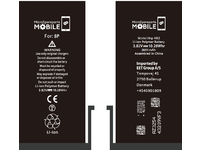 MicroSpareparts Mobile Iphone 8 Plus Battery 3.82V 2691mAh 10.28Wh Li-Pol MOBX-IP8P-BAT - eet01