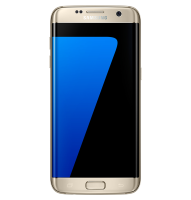 "Samsung Samsung Galaxy S7 Edge - Smartphone - 4g Lte - 32 Gb - Microsdxc Slot - Gsm - 5.5"" - 2560 X 1440 Pixels (534 Ppi) - Super Amoled - Ram 4 Gb - 12 Mp (5 Mp Front Camera) - Android - Platinum Gold Sm-g935fzdanee - xep01"