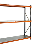 1200mm Galvanised Longspan Shelving Extension Bay