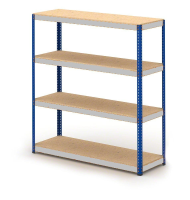 1525mm wide - Heavy Duty Boltless Widespan Stockroom Shelving unit