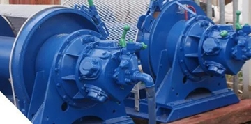 Air Winches for Offshore Installations