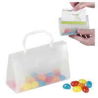 BI50 Sweets In A Perspex Bag With Card Slot