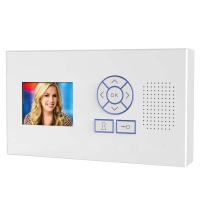 AES 705-HF-VH Handsfree Wall Mount Monitor