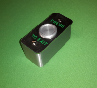 Narrow Style Surface Mounted Waterproof Push Button Exit Switch
