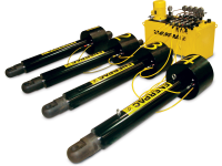 SHS411040MJ, Synchronous Hoist System, 4 Cylinders, 480 Ton Capacity, 39 in Stroke, Manual Control System, 460 - 480 VAC, 60 Hz