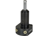 SLSD21, 500 lbs Force, Swing Clamp, Double-Acting, Straight Plunger, Lower Flange