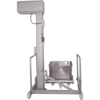 Carso 200 Litre Tote Bin Hoists For The Food Processing Industry