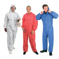 Uk Manufacturers Of Melloguard Sms Chemical Protection Coverall With Hood