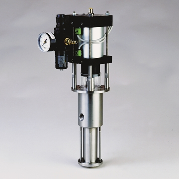 Electronically-controlled Ratio Piston Pump