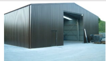 Agricultural Steel Buildings For Dairy Housing Shed