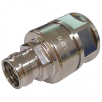 """43F-LCF78-D01    4.3-10 Female Straight Connector for 7/8"""" Coaxial Cable, OMNI FIT Premium, Polymer claw and compression sealing"""