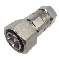 """43M-SCF12-D01 4.3-10 Male Straight Connector for 1/2"""" Coaxial Cable, OMNI FIT Premium, Polymer claw and compression sealing"""