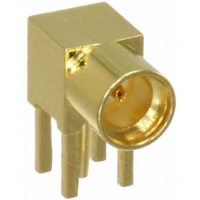 MCX Elbow PCB JACK GOLD PLATED