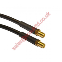 SMA FEMALE TO SMA FEMALE CABLE ASSEMBLY RG223 0.5M