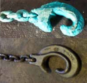 Lifting Chain Cleaning