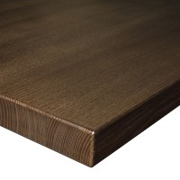 40Mm Solid Ash Table Top Finished In Wanut