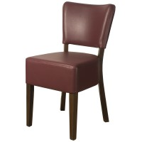 Belmont Wine Faux Leather Restaurant Chairs