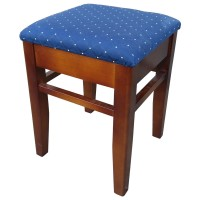 Used Low Stools With Upholstered Seat