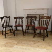 Used Traditional Style Pub Chairs Assorted