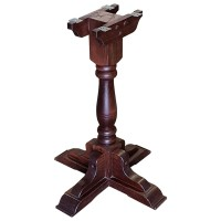 Used Traditional Wooden Pub Table Base
