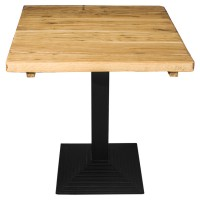 Vintage Oak Complete Mayfair Step 2 Seater Table 40Mm Thick Real Oak