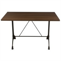 Walnut Complete Continental 4 Seater Table