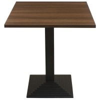 Walnut Complete Mayfair Step 2 Seater Table