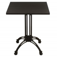 Wenge Complete Square Continental 60Cm Table