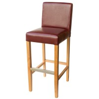 Wine Covent Bar Stool With Back