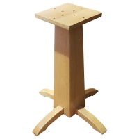 Wooden Table Base 63Cm Height
