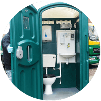 Mains Connected Portable Toilets In Herefordshire