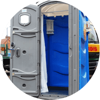 Electric Portable Shower Unit In Suffolk